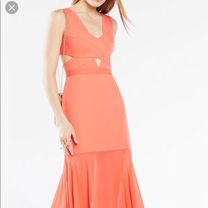 BCBG Coral gown